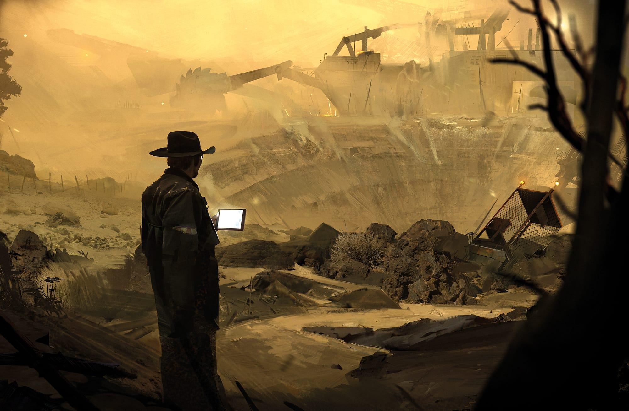 Image result for simon denny mine
