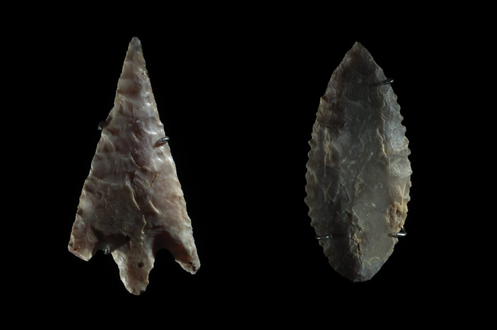 Neolithic projectile points,  Egypt, Predynastic Period, c. 5300–3000 BCE